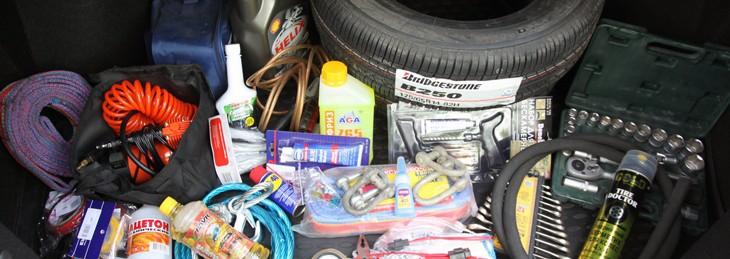 Що повинно бути в багажнику
